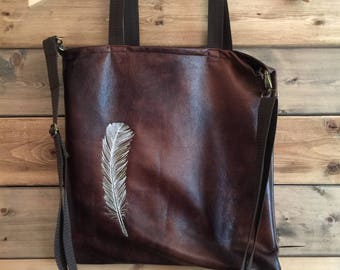 Feather Tote