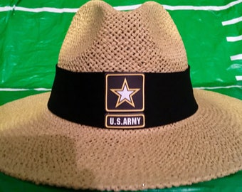 U.S. Army straw hat