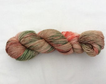 Hand dyed 4ply Sock wool - Blueface Leicester Superwash