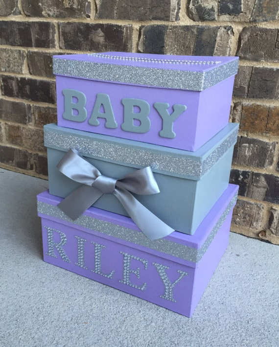 Letter From Baby To Baby Shower Guests: Baby Shower Card Box Giftcard Box And Letter Box