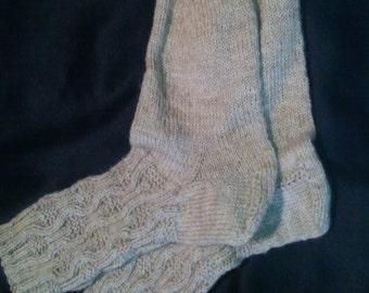 elegant pattern socks Gr. 37