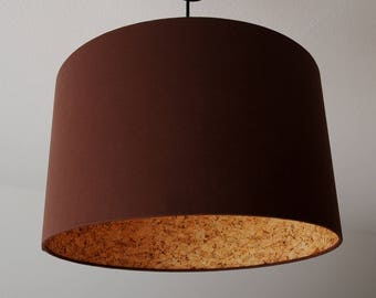 "Lampshade ""Brown Cork"""