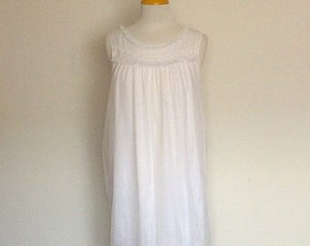 1980s Boudoir Loungewear Nightgown Vintage