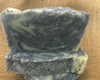 Activated Charcoal & Sea Salt Soap