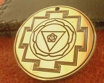 Bhagamalini nitya, Yoga necklace, Yantra jewerly