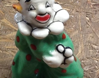 Vintage Yona Clown Shaker