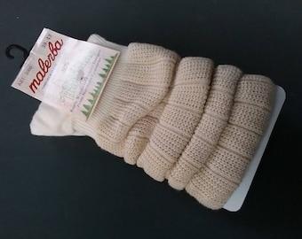 Socks shopper-socks unisex Malerba-Ewers 95% cotton 5% spandex foot length vintage goods