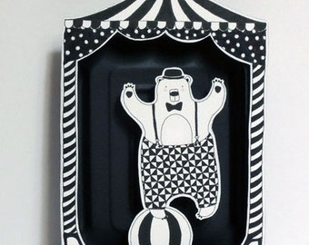 The bear - circus series