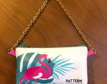 Pouch pocket with chain thetravellovebag Miami