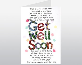 Get Well Soon Card WWGW07