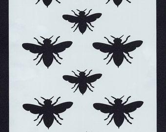 Bee Stencil (Background 011)