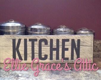 Kitchen Banner Sign
