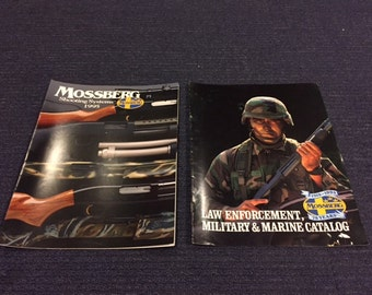 Vintage Mossberg Sporting and Military / Law Enforcement Product Catalogs