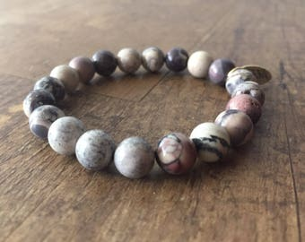 Stackable Beaded Bracelet, Gemstone Bracelet