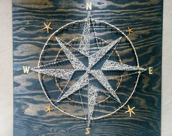 Gone With The Wind - Compass String Art