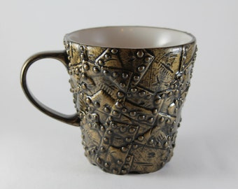 Steampunk Inspired Coffee Mug