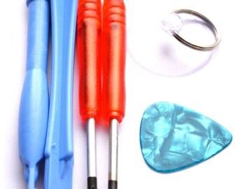 ACENIX® New 6 in 1 Opening Repair Tool Kit for iPhone Samsung BlackBerry, Motorola, HTC Mobile Phones