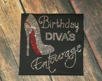 Birthday Diva Entourage Tee