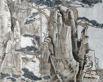 Chinese traditional landscape painting BXS71