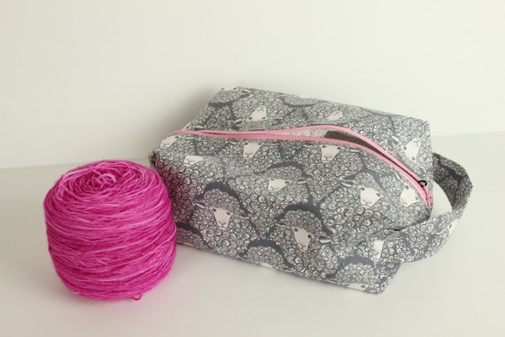 Grey Sheep medium box project bag