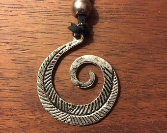Life Dance Unfurling Necklace