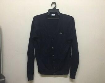 Vintage Cardigan Lacoste Dark Blue
