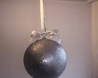 25cm giant hanging christmas bauble