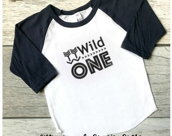 Wild One Raglan Shirt