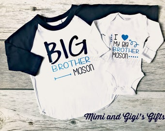 Big Brother and Little Brother or Sister Shirts