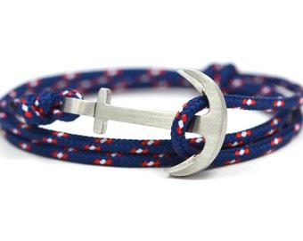 Oldschool anchor bracelet BEACH - surfer - anchor bracelet-bracelet