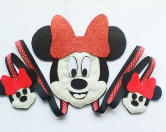 Mickey Mouse Hair Clip Holder , hair clip organizer