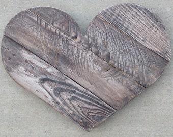 Medium Pallet Heart | Heart | Wood Pallet Heart | Pallet Heart | Wood Heart | Rustic Heart