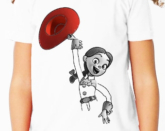 Disney Jessie Toy Story Children's T Shirt