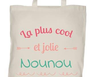 Tote bag nanny - customizable