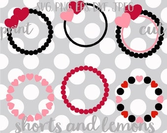 Valentine Monogram svgs, HUGE set, Valentine's day svgs, heart svg, love svg, SVG, dxf, ...