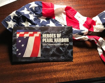 Heroes of Pearl Harbor 10 dollar Commemorative Coin #279