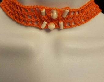 Crochet choker set