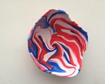 Polymer clay bowl