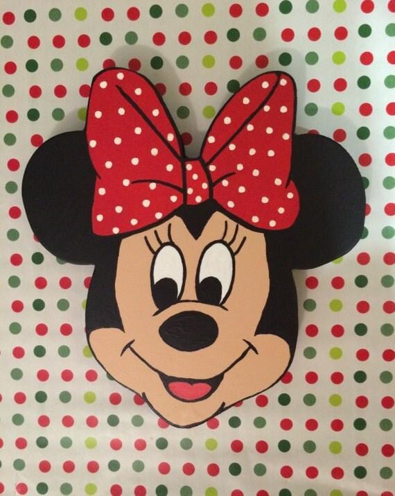 minnie mouse wall decor