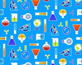 Pre-Order StudioE Geek Chic Cotton Fabric - By the Yard - Available June 2017