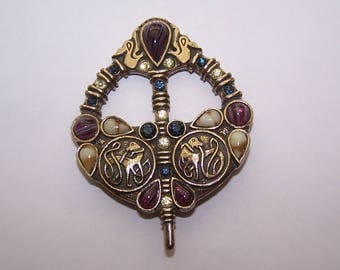 Celtic Brooch by SOLO'OR