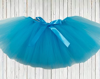 Turquoise Blue Tutu, Christmas Tutu, Blue Tutu, girl Tutu, infant tutu, baby tutu, newborn tutu, toddler tutu, girl tutu, holiday tutu