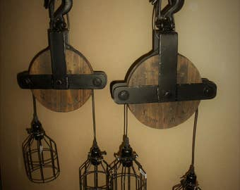 Ceiling Pulley light