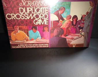 Brand New sealed Scrabble Duplicate Crossword Game 1975