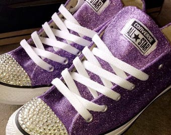 Rhinestone Converse Shoes Women S Bling Converse Shoes