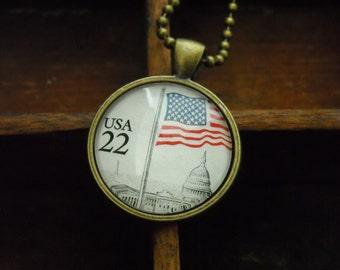 """Chain """"USA-Stars & Stripes"""""""