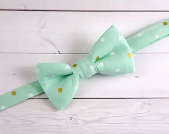 Baby Bow Tie, Toddler Bow Tie, Suit Tie, Green Bow Tie, Wedding Bow Tie, Kids Bow Tie, Bow Tie, Bowtie, Ring Bearer Bow Tie, Mens Bow Tie