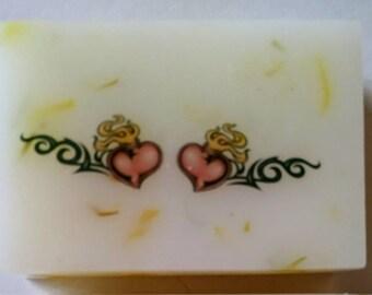 Tattoo Hearts Soap