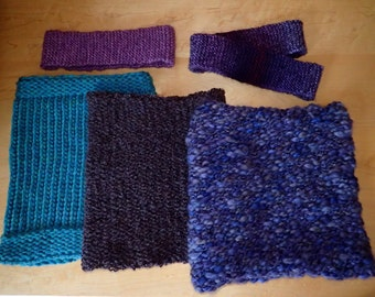 Knitted Neckwarmers