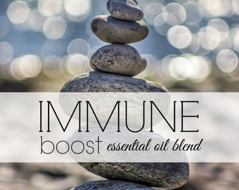 IMMUNE BOOST essential oil blend | Protective Blend| Health Guard | Natural immunity boost | Illness prevention | Illness recovery
